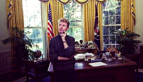 Bowie in the White House