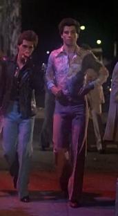 Both John and Joey walking <333333