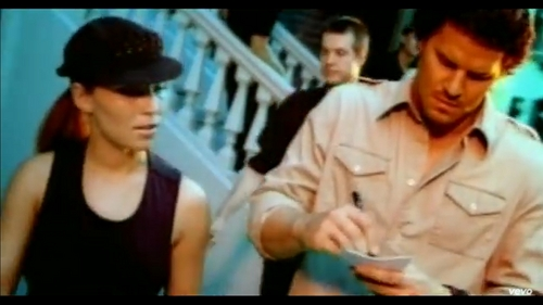 David Boreanaz Dido's 'White Flag' video