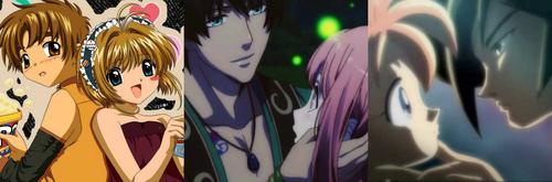 1. Sakura and Syaoran (Cardcaptor Sakura) 2. Cecil and Haruka (Uta no Prince-sama) 3. Fakir and Ahiru (Princess TuTu)
