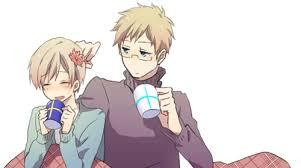 i only ship stuff from Hetalia Sufin Gerita SeaWy and Holy Rome and Chibitalia Sufin is the 1st one i ever ship ^w^ its cute lol, i also adore Finland a lot as a character so i ship it