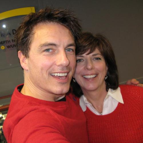 John with his sis, Carole