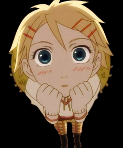 Finnian from Black Butler! I wanna hug em!!!!