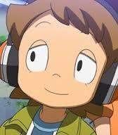 hmmm, i think Eddie from Yo Kai watch at times... especially with his headphones down... but i also like him with his headphones up and making this face <3  and also Finland from Hetalia is the next 1 ^w^
