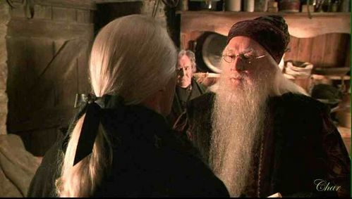 I've always had a thing for Lucius Malfoy's super sexy satin ribbon.