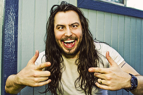 Sure works for Andrew WK