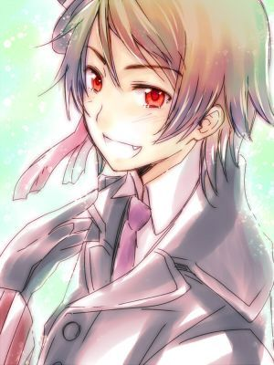 ROMAINA IS NOT A VAMPIRE BECAUSE THE OWNER IF Hetalia alisema IT HIMSELF!!! YES HE HAS SHARP TEETH! SO DOES MOLDOVA AND HE ISNT A VAMPIRE