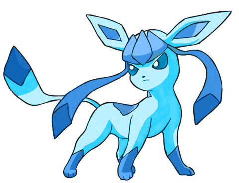 Girlfriend/Wife------- Serena Competitor----- Me Journey companion ----- IDK man... Ash's gonna wish he never met my Glaceon!! Look what I did to Glaceon in graphic design class 2 weeks ago!