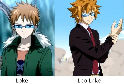 Loke from Fairy Tail.