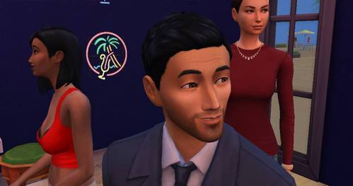 I was playing with a family which had a policeman in the Sims 4. I guess, I'm gonna befriend myself with him.