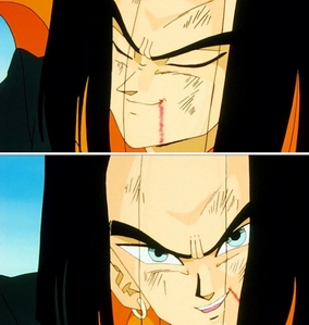 Android 17 (DBZ) he's the hottest smexiest man ever !