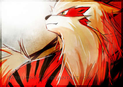 I love Arcanine  Such a beautiful Pokemon~