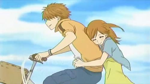 Romeo X Juliet Nagisa X Tomoya Hinata X Yui Nana X Yano Yuuichi X Ayu Riki X Rin Otonashi X Kanade The picture is of Yano and Nana-chan together, because that's my current favorite.