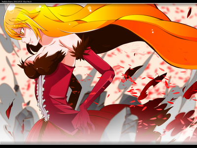 where the hell is kiss shot acerola orion coração under blade from bakemonogatari