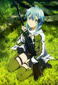 Sinon from Sword Art Online. Because she's awesome.