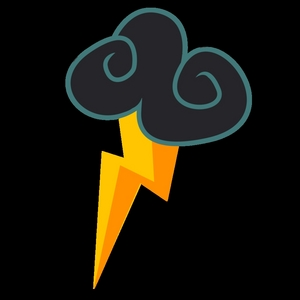 Job: wonderbolt and yes kuda, kuda kecil type: A Pegasus No, it's not hard, it's gonna be easy Cutiemark: a thunderstorm