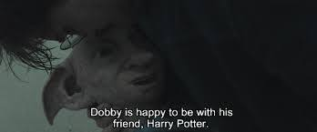 Dobby. He is the best elf ever😱😰😨😭😢😥😪😳😞😟😠😔☹️🙁😕😣😖😫😩