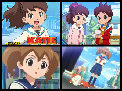 Katie the main girl character is my crush. Also i really cinta Amy. (Japanese: エミちゃん Emi-chan) The girl who only appears in a flash backs so far. She was the original Owner for Jibanyan before he became a Yo-Kai for Nate. oleh the way i wish Yo-Kai watch would tampil lebih of Amy and not just in Flashbacks. And some episodes that have to do with Jibanyan. :3 I also cinta the other characters as well. Like Nate,Bear and Eddie. Also the Yo-Kai spirit creatures are so adorable as well. :3