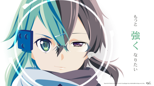 Shino Asada from Sword Art Online II ~