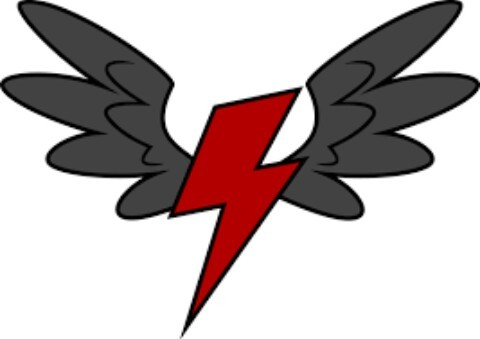 Job:Wonderbolts and easy Type:Pegasus Cutie mark:red lightning bolt with wings