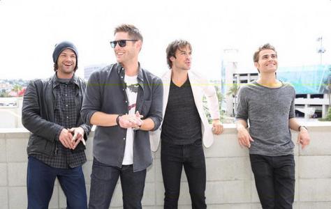 Jared, Jensen, Ian, and Paul <3