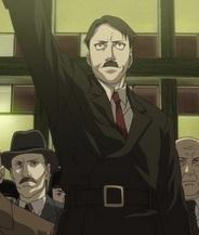 Hitler from Fullmetal Alchemist.