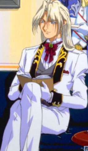 Milliardo Peacecraft, a.k.a. Zechs Merquise from Gundam Wing.