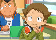 "i still REALLY pag-ibig Yokai Watch Eddie >w< IF ONLY HE WAS REAL!! HES SO ADORABLE!!! um... Eddie.... w-why so cute??? btw the small one with the headphones around his neck is Eddie. his japanese name is Kanaachi Imida (i hope i spelled it right) <3 <3 i pag-ibig him *blushes* he makes me sit there staring at my computer going ""awwwwwwwwww"" so yeah... ok below is the litrato"