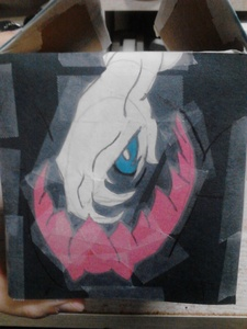 How about this thing I made outta paper cut outs~?