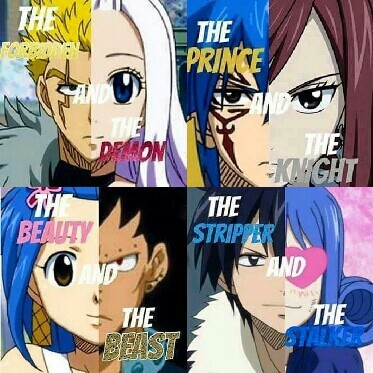 who are your favorite 'couples' in fairy tail? ;)