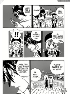 um... YES. He admittes it in de manga :3 so YESSSSSS. GRUVIA IS GREAT. 