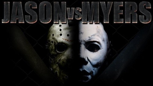 HEY THEY R BOTH MY FAVORITE MOVIES EH!   HEY THEY MADE JASON vs FREDDY & NOW THEY MAKE VOORHEE'S vs MYERS THAT WOULD BE A GREAT SLASHER MOVIE.