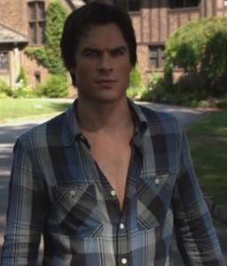 Ian in blue plaid