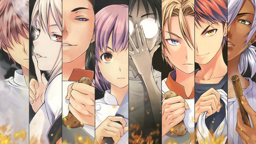 Shokugeki no Soma is fairly new :) Season 2 is coming out this Spring :D