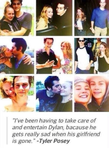 Dylan and Brit Robertson