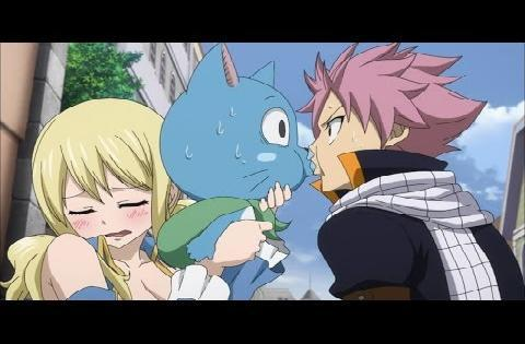 which episode does Natsu and Lucy Kiss? - Fairy Tail ...