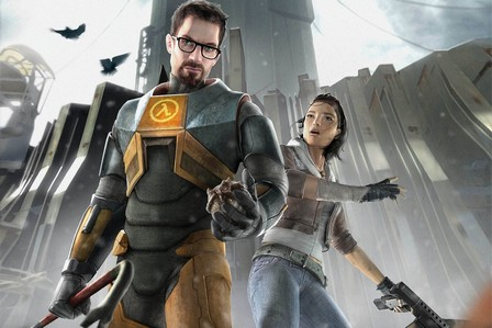 Half-Life 2 I've played it countless times. It's a great entertaining story, and a wonderful sequel to the first game.