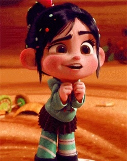 Vanellope. Also Bambi and all of the other Disney baby animals. And Agnes and Boo and baby Rapunzel and baby Anna.