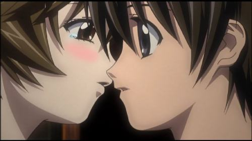 Kouta and Yuka from Elfen Lied. It's 大炮, 加农炮 too, so fuck me T_T