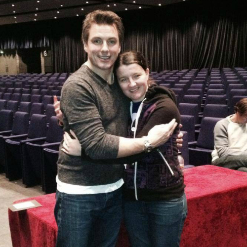 John Barrowman. He's madami than just someone i fancy. Hes my role model, idol and inspiration <3