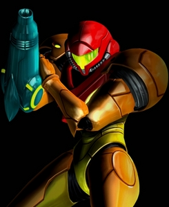 Samus from Metroid. She did take care of the baby Metroid. Seriously, play Metroid Other M. She never shuts up about it (And par that, I mean avoid Other M like the plague. No one likes it, as they should)
