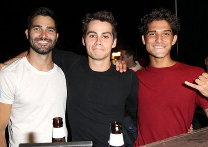 Dylan O'Brien, Tyler Posey & Tyler Hoechlin. They all just seem like super chill and awesome people, and I think it'd be a lot of fun to hang with them, especially the three of them together since they're such great friends! :D