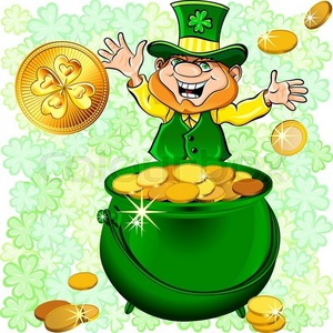 It's that sneaky little leprechaun! Where do you think he gets the gold from?