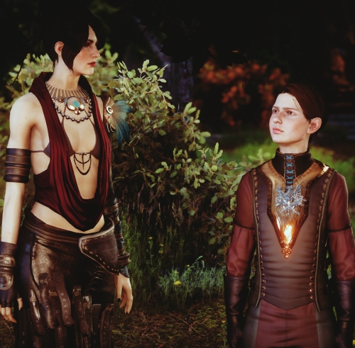 Morrigan from Dragon Age: Inquisition.