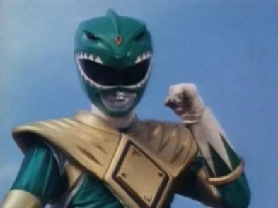 The Green Ranger is so badass, that he makes Chuck Norris cry.