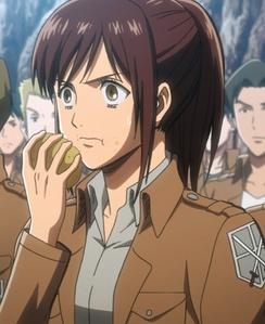 Sasha and her potato.