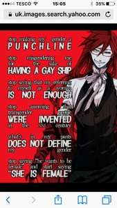 Grell is a female