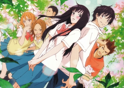 Kimi ni todoke Voice of the distant nyota 5 centimeters per sekunde Toki o kakeru shoujo