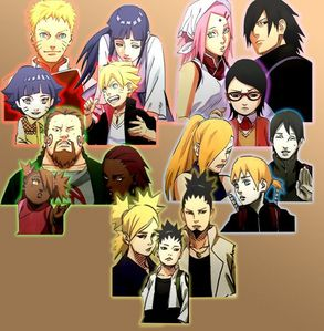 Hinata married Naruto and had 2 children, a boy named Boruto and Himawari.