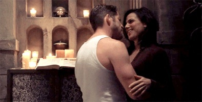Regina and Dan o Robin they are both cute couples.